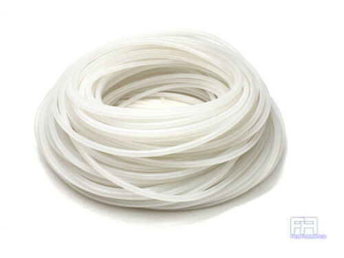 HPS 6mm Full Silicone Coolant Air Vacuum Hose Line Pipe Tube x 50 Feet Clear
