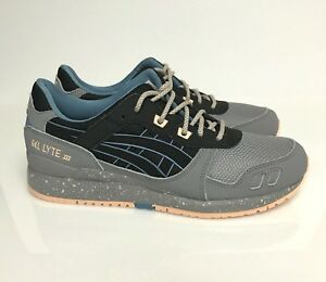 official photos aa398 44dd2 Details about Asics Gel Lyte III 3 Black Gray Peach H7L0L-9090 Japan Tiger  Trainer Running