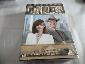 Neu-Versiegelt-Dallas-die-Komplette-Dritte-Staffel-DVD-Serie-3-Cert-Pg-Pal-Reg-2