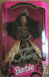 Barbie Mattel Moonlight Magic Afro Américain Special Limited Edition 93 '