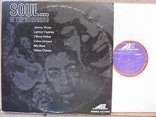 TEXAS BLUES LP Soul In the Beginning T-BONE, JOHNNY WINTER, BILLY BIZOR harp