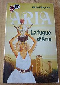 French-Comic-Pocket-Book-La-Fugue-D-039-Aria-Michel-Weyland-No-1