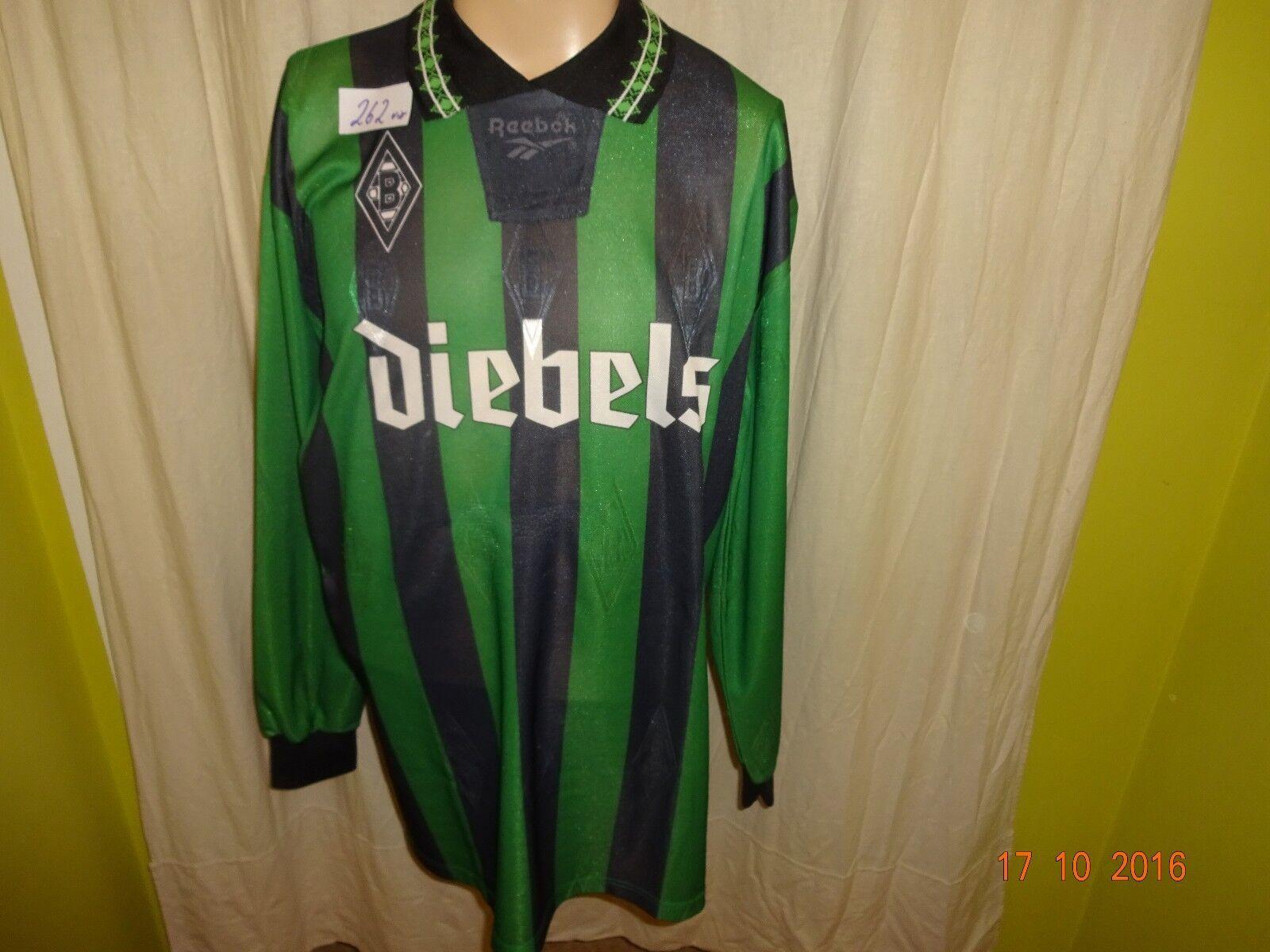 Borussia Mönchengladbach Original Reebok Langarm Trikot Trikot Langarm 1995/96