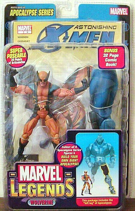 Marvel Legends Wolverine Mask Figur PVC 16cm