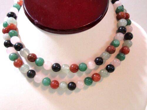 Tribal Choker Necklace  Trade Bead Jewelry Interlocking Jade Color Prosser Beads  Handcrafted Tribal Jewelry  Artisan Cut Stone Jewelry