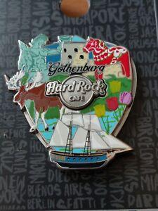 Hard Rock Cafe  Gothenburg 3D Collage Pick Pin