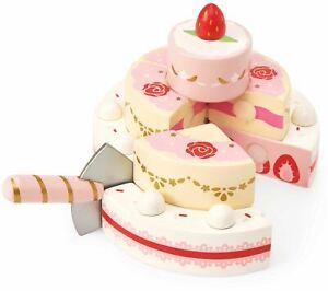 Le Toy Van Honeybake Play Fraise Gâteau De Mariage En Bois Jouet Bn-afficher Le Titre D'origine Soyez Astucieux Dans Les Questions D'Argent