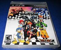 Kingdom Hearts Hd 1.5 Remix Sony Playstation 3 Black Label Sealed-free Ship