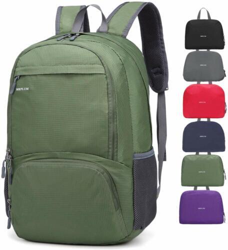 Unisex Durable Ha MRPLUM 25L-30L Rucksack Foldable Ultralight Packable Backpack