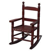Gift Mark Wooden Rocking Chair