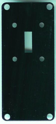 REPRO BLACK SWITCHPLATE COVER of KELLOGG WOODWALL PHONE