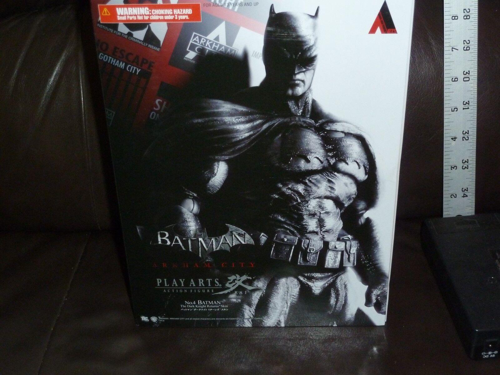 BATMAN ARKHAM CITY no4 BATMAN 9 INCH PLAY ARTS KAI ACTION FIGURE SQUARE ENIX