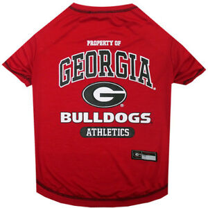 Georgia-Bulldogs-Pets-First-Officially-Licensed-NCAA-Dog-Pet-Tee-Shirt-Red
