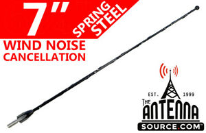 """Fits:1986-1997 Nissan Pickup D21 31/"""" Black Spring Stainless AM//FM Antenna Mast"""