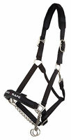 Lemieux Pro-safe Control Head Collar - Control Chain Black, Pony Cob Full X-full