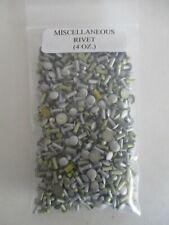 Solid Rivet Aluminum Miscellaneous Assortment 4 Oz Package 14 Pound Lot
