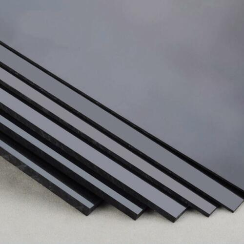 "US Stock 2pcs 1.5mm x 7.87/"" x 9.84/"" Black ABS Styrene Plastic Flat Sheet Plate"