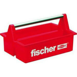 Fischer plastic toolbox with two large storage containers 60524 image is loading fischer plastic toolbox with two large storage containers publicscrutiny Choice Image