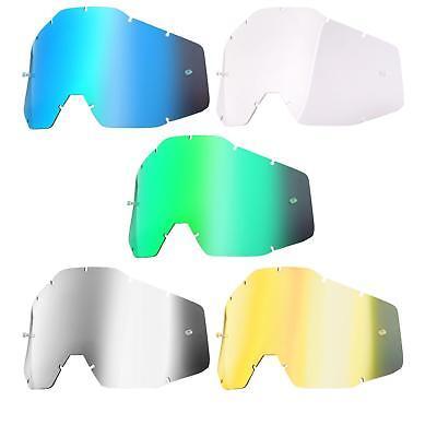 100% Bambini Goggle Disco Di Ricambio Occhiali Vetro Accuri Strata Lense Mx-