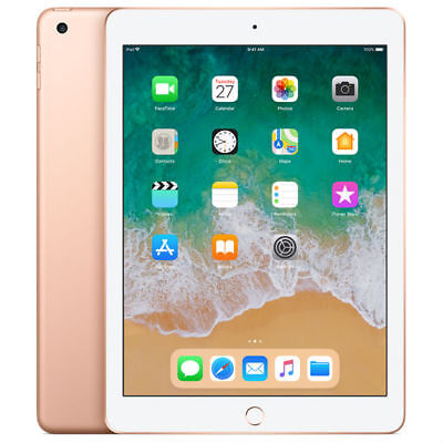 NUEVO APPLE IPAD 32GB 9.7 INCH WI-FI 2018 VER TABLET ORO GOLD