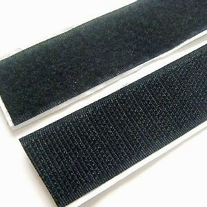 SELF-ADHESIVE-STICKY-BACK-HOOK-LOOP-FASTENING-TAPE-BLACK-WHITE-VELCO-ALTERNATIVE