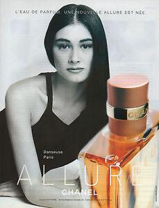 Publicité Advertising 2000 Parfum ALLURE de CHANEL pour femme ... 038d0a2911b