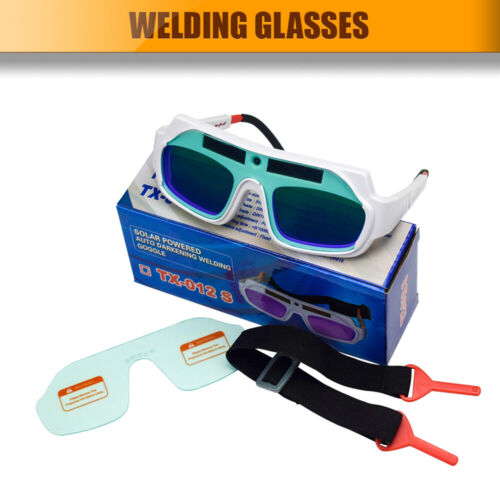 Solar Automatik Schweißerschutzbrille Schweißerbrille Schweißen Schutzbrille Neu
