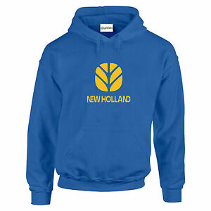 acquisto economico c7554 420cd Details about New Holland Tractor Fan HOODIE Enthusiast Farm Choice Of  Colour Gift Small - 5XL