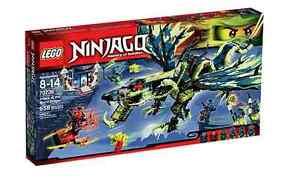 Lego® Ninjago ™ 70736 L'attaque du dragon Morro Neu Ovp Nouveau Misb Nrfb
