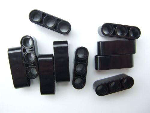 Parts /& Pieces 10 x Lego Black Technic 3M beam 4142822