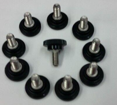 Thumb Screw,Knurled,1//4-20 x 3//4 L,pk 10