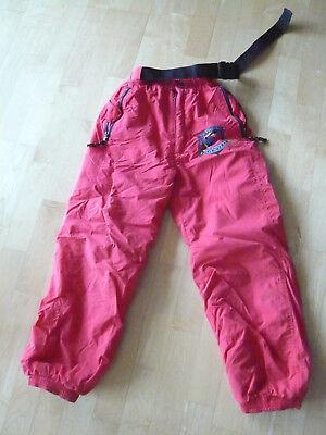 Schneehose v. O`NEILL Gr. 152 rot Gummizug - wenig getragen
