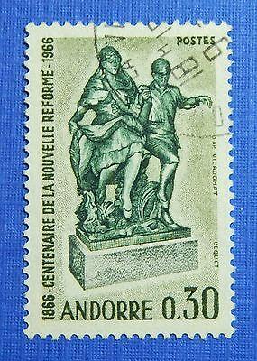 1967 Andorra French 30c Scott# 173 Michel # 201 Used Cs29254 Excellent Quality Andorra