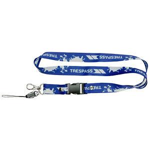 Trespass-Lanyard-Fob-Key-Holder-for-Pass-Holder