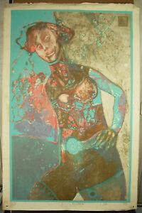Print-Original-1992-Signed-Artist-in-Determine-EA-Art-Modern-Modernism