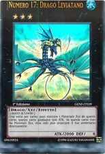 SCAN MISCUT ☻ Numero 17: Drago Leviatano ☻ Ultra Rara ☻ GENF IT039 ☻ YUGIOH