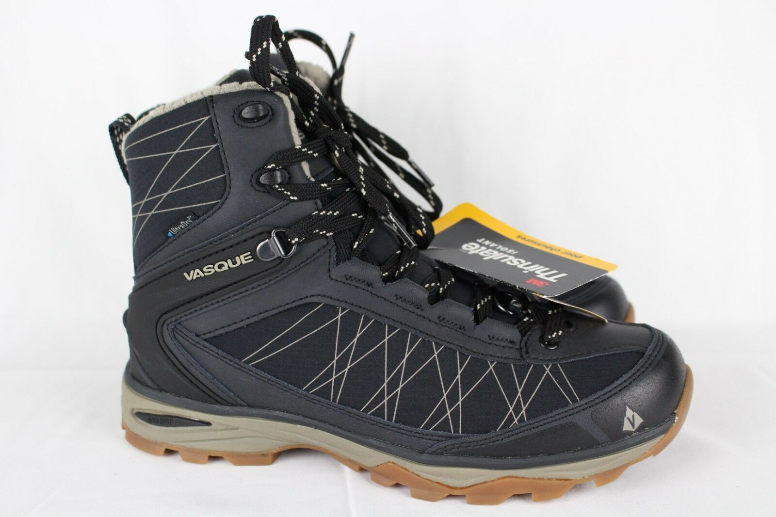 Vasque Women's Coldspark Ultradry Insulated Boots 8.5 Anthracite Aluminum 7827