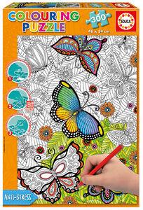 Puzzle-Educa-17089-All-Good-Things-300-piezas-para-Colorear-tu-mismo-Infantil