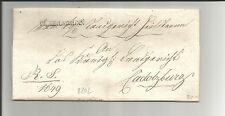 Bayern / CL. HEILBRONN, L1 a. Kabinett-R.S.-Brief 1830 n. Cadolzburg