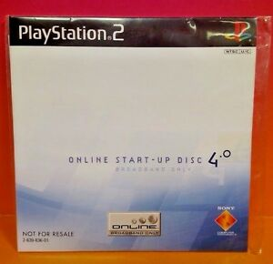 Online-Start-Up-Disc-v-4-0-Sony-PS2-PlayStation-2-Brand-NEW-Sealed-Rare-HTF