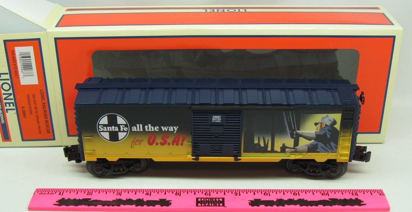 Lionel  6-29967 Lionel Railroad boxcar