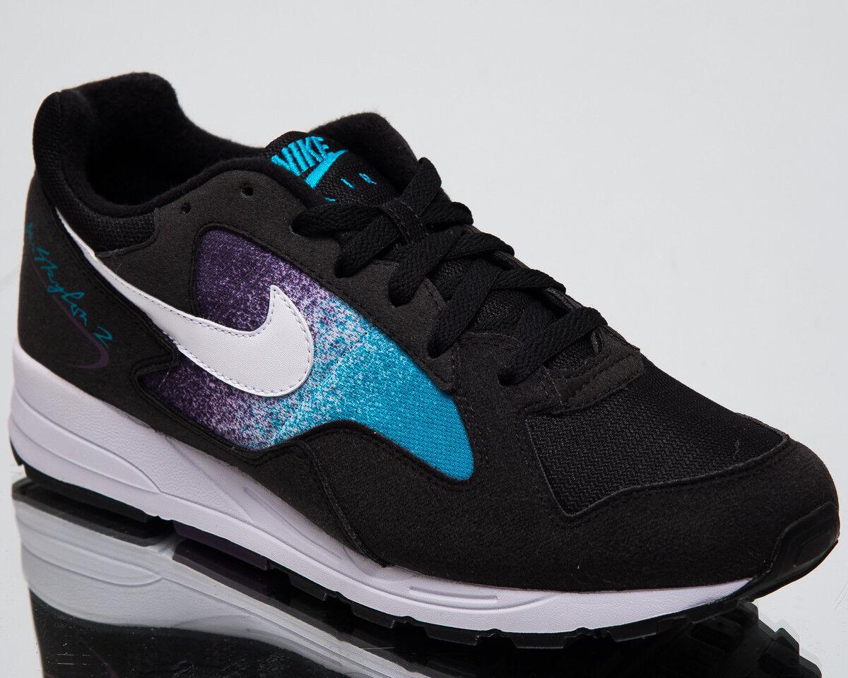 Nike Luft Skylon II Herren Lifestyle Schuhe Schwarz Blaue Lagune Turnschuhe