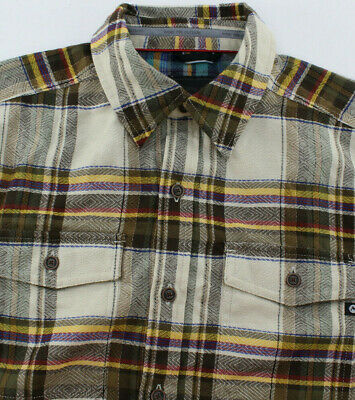 MARMOT Zephyr Cove Midweight Flannel Long Sleeve Shirt Cinder MD