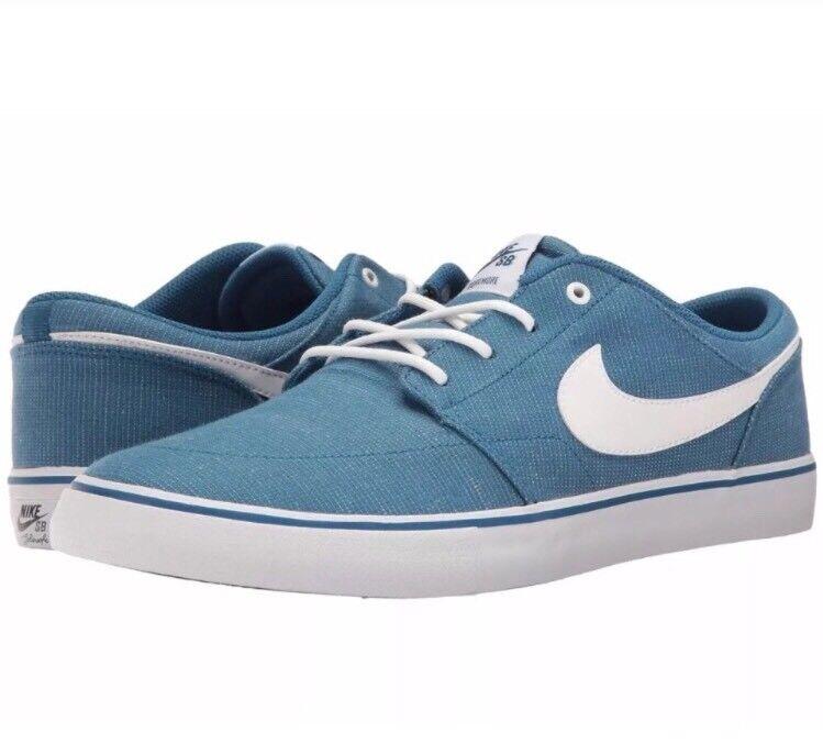 Nike Athletic SB Portmore II hombre skateboarding zapatos Athletic Nike zapatillas lienzo azul blanco 68db06