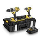 DeWALT Dck290m2 Combi Drill and Impact Driver 18v XR Twinpack 2 X 4ah Batts
