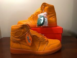 25ee6322e17929 Nike Air Jordan 1 Retro High OG Gatorade  Orange Peel  AJ5997-880 ...