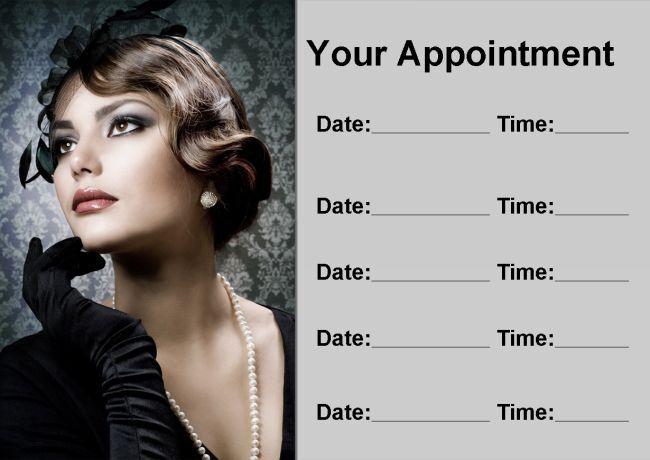 Coiffeur salon de traiteHommes t carte cheveux personnalisé carte t de rendez-vous 80e387