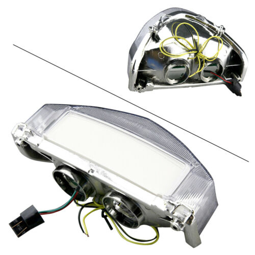 LED Tail Light For 2000-2001 HONDA CBR929RR Integrated Turn Signals Clear ABS