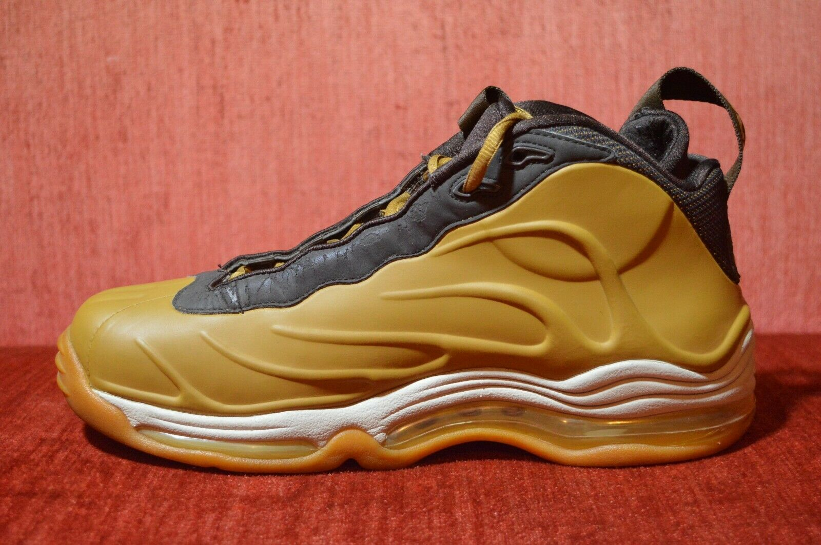 375a7635720 Clean 2005 Nike Total Air Foamposite Max Wheat Brown Duncan s 307717-721  Size 9 for sale online