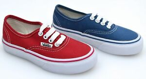 VANS JUNIOR BOY GIRL SNEAKER SHOES CASUAL FREE TIME AUTHENTIC WWXNWD ... 51116c8ea27